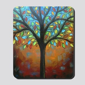 Tree of Many Colors Mousepad